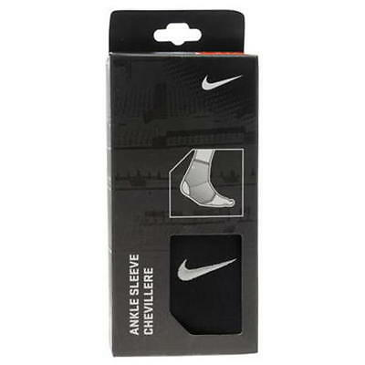 Nike Ankle Sleeve Support bandage  size adult medium black new