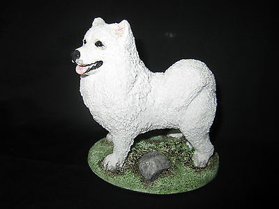 """Samoyed sculptured Suzy Maxted approx size 4"""" x 4"""" SALE!!"""