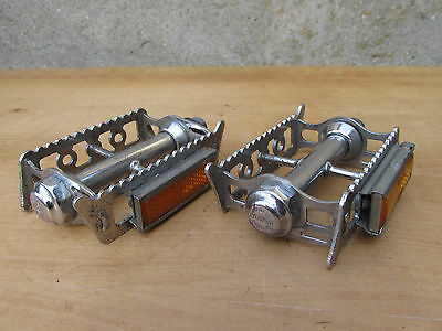 Lyotard 36 Vintage Pedales Pour Velo Course Ancien Bicycle Pedals Road Racing
