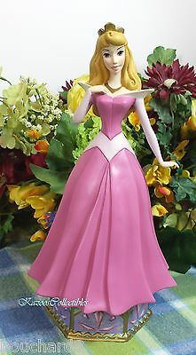 """Disney Gallery Princess Aurora Musical music box Limited number edition 11"""" tall"""