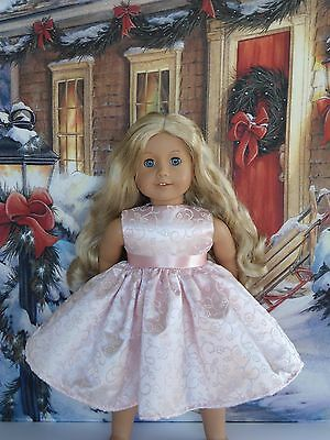 "New Doll Clothes Fit 18"" American Girl Doll Handmade Fancy Dress"