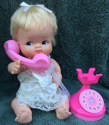 "Little Shavers 10""Original Doll&(Added Clothes&Toy Phone&Fake Pearls Necklace)"