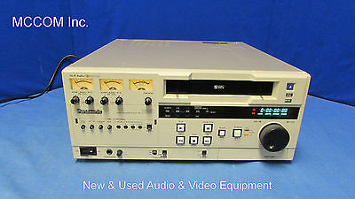 Panasonic AG-7650 SVHS Videocassette Player w/ 13 drum hrs