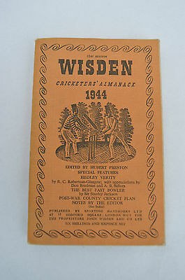 WISDEN Cricketers' Almanack 1944 (Softback) 81st Edition