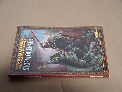 Warhammer Army Book: Storm of Chaos - Games Workshop