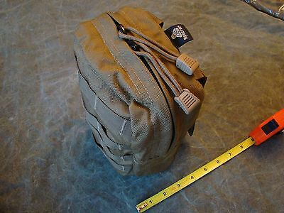 New SPECTER Gear #280 COY MOLLE II Medium - vertical Utility Pouch Coyote Tan