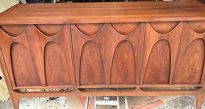 Broyhill Brasilia CONSOLE - rarest of the pieces! ACTUAL PHOTO