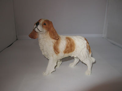 Cavalier King Charles Blenheim figureby Castagna hand made in Italy new