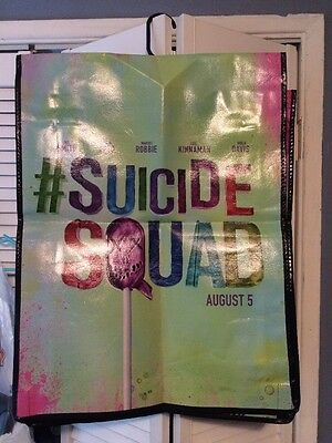 SDCC 2016 Suicide Squad Harley Quinn The Joker Swag Bag Backpack Comic Con
