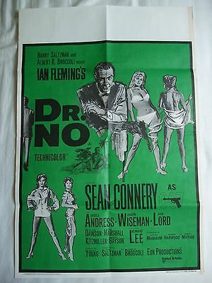 Original Dr No RR UK double crown poster, 1968, INVESTMENT CONDITION