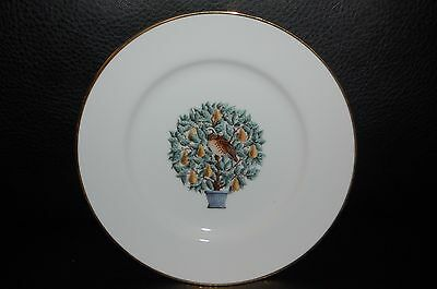 Partridge in a Pear Tree Plate Avon Set of Two NEW