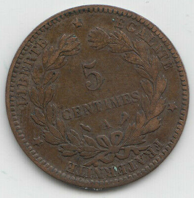 France 5 Centimes 1897