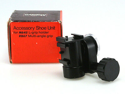 Mamiya Access.shoe Unit Per L-Grip M645/ Multi-Angle Grip Rb67 ( Nuovo )