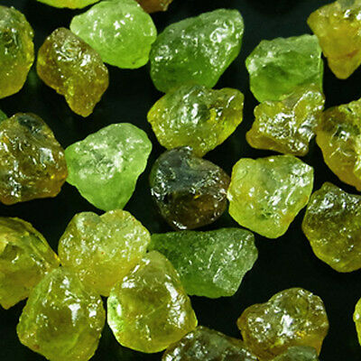 Lot-55.00+ CTS_(TOTAL)- NATURAL GREEN MALI GARNET FROM 3.00 TO 12.00 CTS