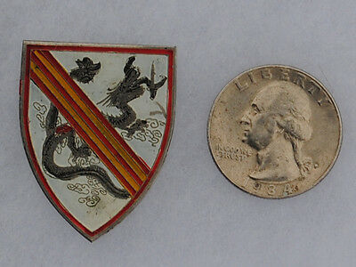 Wartime Nung Security Forces Beer Can / Crest / DI