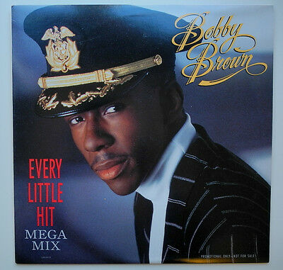 "12"" Us**bobby Brown - Every Little Hit (Mega Mix) (Mca '89 / Promo)***15901"