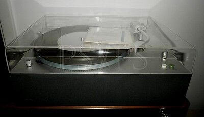 Dust cover for turntable Braun PS 1000,500,600.Acrylhaube,stofkap,couvercle,tapa