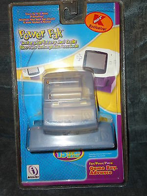 New Sealed Game Boy Advance Power Pak-Rechargable Battery-15 Hours-!