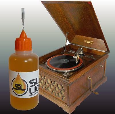 BEST Synthetic Oil For Silvertone Phonographs, READ!! Slick Liquid Lube Bearings