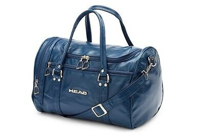 HEAD St Moritz Faux leather Blue Faux Leather holdall BRAND NEW COLOUR!!