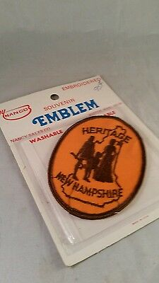 Vintage  Heritage New Hampshire Patch by Emblem New in Package