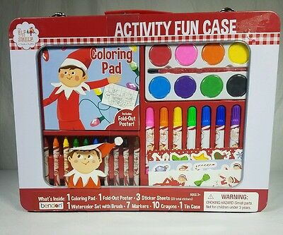 New The Elf on the Shelf Activity Fun Case for Ages 3+