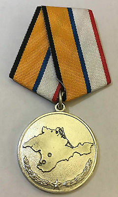 Russian Official Crimea Campaign Occupation medal 2014