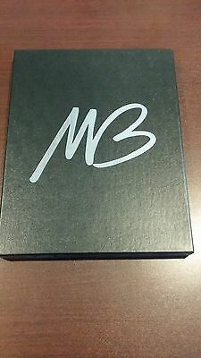 MICHAEL BUBLE FAN CLUB STATIONARY SET w BUBLE BOX, STATIONARY, ENVELOPES n PEN