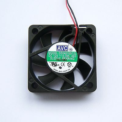 AVC 40mm 4010 PC Northbridge Southbridge GPU Cooling Fan 3 Pin 12V Silent F21