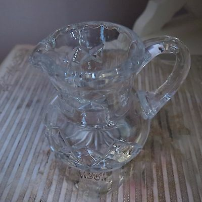 Sweet little miniature crystal jug