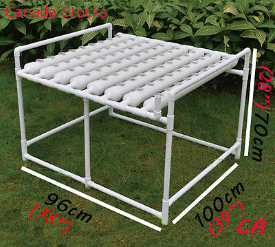 Sale Balcony/Garden Hydroponic Grow Kit Ebb and Flow Deep Water Culture 72 Sites