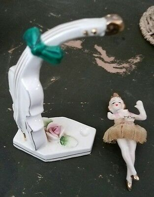 """Vintage Ucagco Cello with""""Twirling Ballerina"""""""