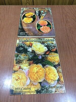 Heirloom Roses The Impressionist Catalog Nice Condition