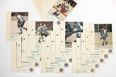 Vintage Toronto Sun 1971-72 NHL Action Players Pittsburgh Penguins LOT of 33