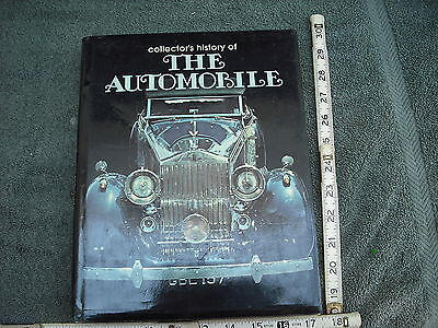 "The Collectors History of ""The Automobile"", Peter Roberts, Jacketed Hardcover,"