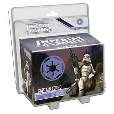 Star Wars Imperial Assault Captain Terro Wasteland Enforcer Pack