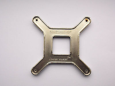 Cooler Master fan Intel CPU Motherboard Back Fixing Plate