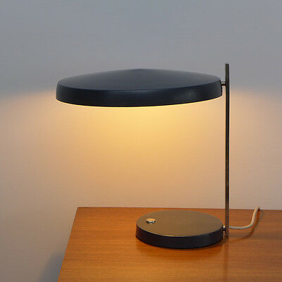 Large Oslo table lamp design Heinz G. Pfaender for Hillebrand Minimalist design
