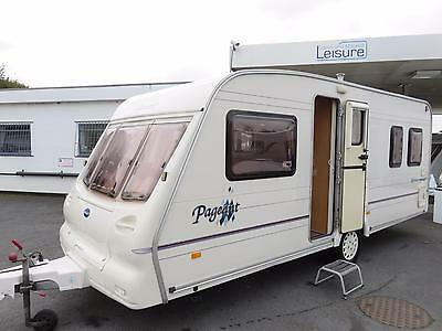 Bailey Pageant Bordeaux 4 Berth Touring Caravan With Fixed Bed..........now Sold
