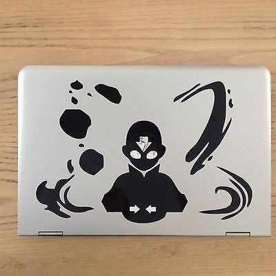Aang THE LAST AIRBENDER AVATAR Sticker For MacBook Pro HP Acer Laptop iPad