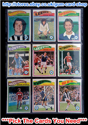 ☆ Topps 1978 Football Orange Back Cards 55 to 108 (VG) *Please Choose Cards*