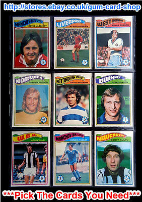 Topps 1978 Football Orange Back Cards 163 To 216 (Vg) *Please Choose Cards*