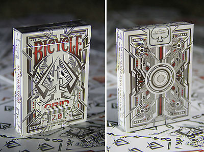 CARTE DA GIOCO BICYCLE THE GRID 2.0 red edition,poker size
