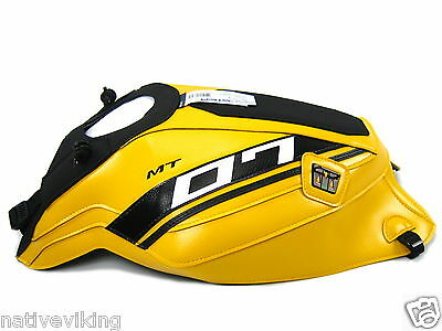 BAGSTER TANK COVER Yamaha MT-07 2015 yellow MT07 PROTECTOR UK in stock 1681F