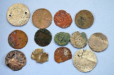 Mixed lot of Medievil European coins