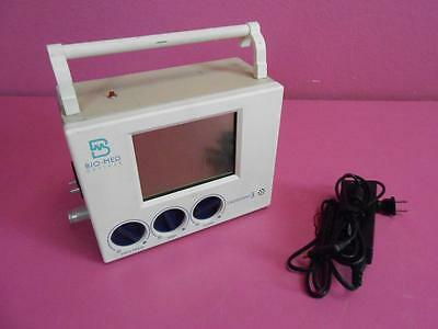 Bio-Med Devices CrossVent 3 Portable Ventilator BMD Adult Pediatric Respiration
