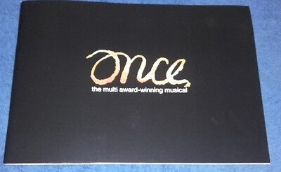 Once The Musical Theatre Programme / Program London Ronan Keating Boyzone MINT