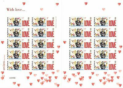 TS-092-03 2006 From Russia With Love Themed Smilers Sheet