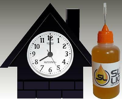 THE SUPERIOR Synthetic Oil For All Clocks PLEASE READ! Slick Liquid Lube Bearing