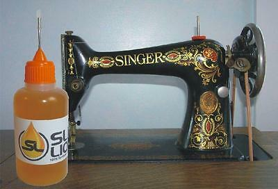 BEST synthetic oil for antique Singer sewing machines Slick Liquid Lube Bearings